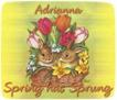 Adrianna-gailz-bunnies and tulips