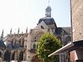 Dieppe - Eglise Saint Jacques - Depuis le marche