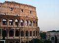 The Colosseum 72AD and Arch of Constatine 315 AD