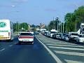 Traffic heading out of Bathurst 003