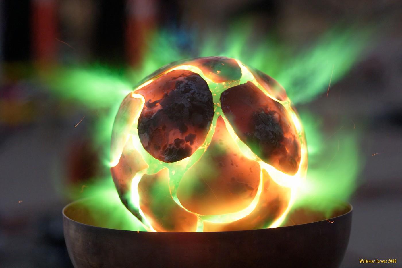 Green Aura Fire