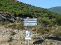 Along the D82 towards Saint Florent