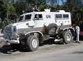 Un engin blindé des Nations Unis à Port-au-Prince