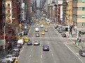 Traffic is very light on 1st Ave. today