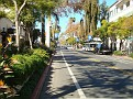 Beautiful State Street in Santa Barbara.