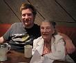Mom and Ryan, 86th Birthday