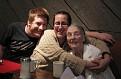 Mom, Ange and Ryan, 86th Birthday