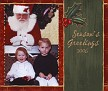 Naomi & Leah & Santa