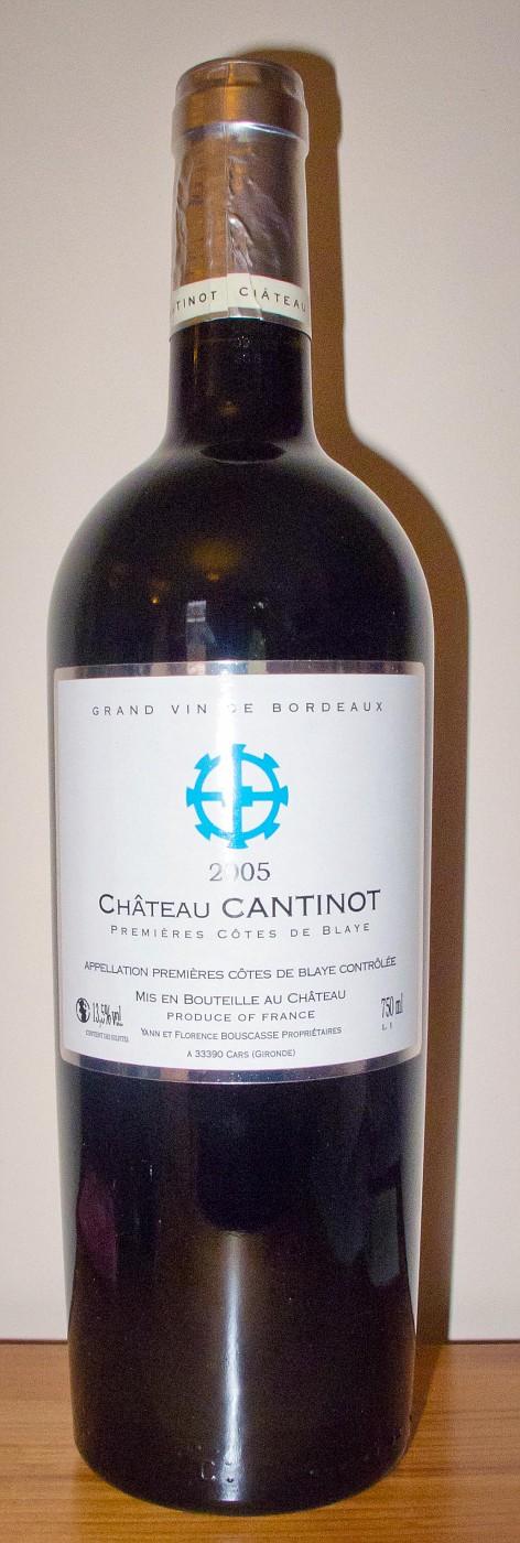 2005 Château Cantinot