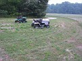 Old mowers for parts.