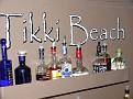 View of the Tiki Beach Bar