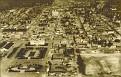 Vue aérienne de Port-au-Prince avant la construction du Bi-centenaire de l'Exposition.