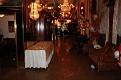 Vue de la table portant les cartes des invités du grand Gala de L'ANOLIS VERT.