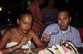 Une agréable soirée chez Chou et Mario. Magda et Richard.