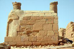 Fragment świątyni w Mussawarat