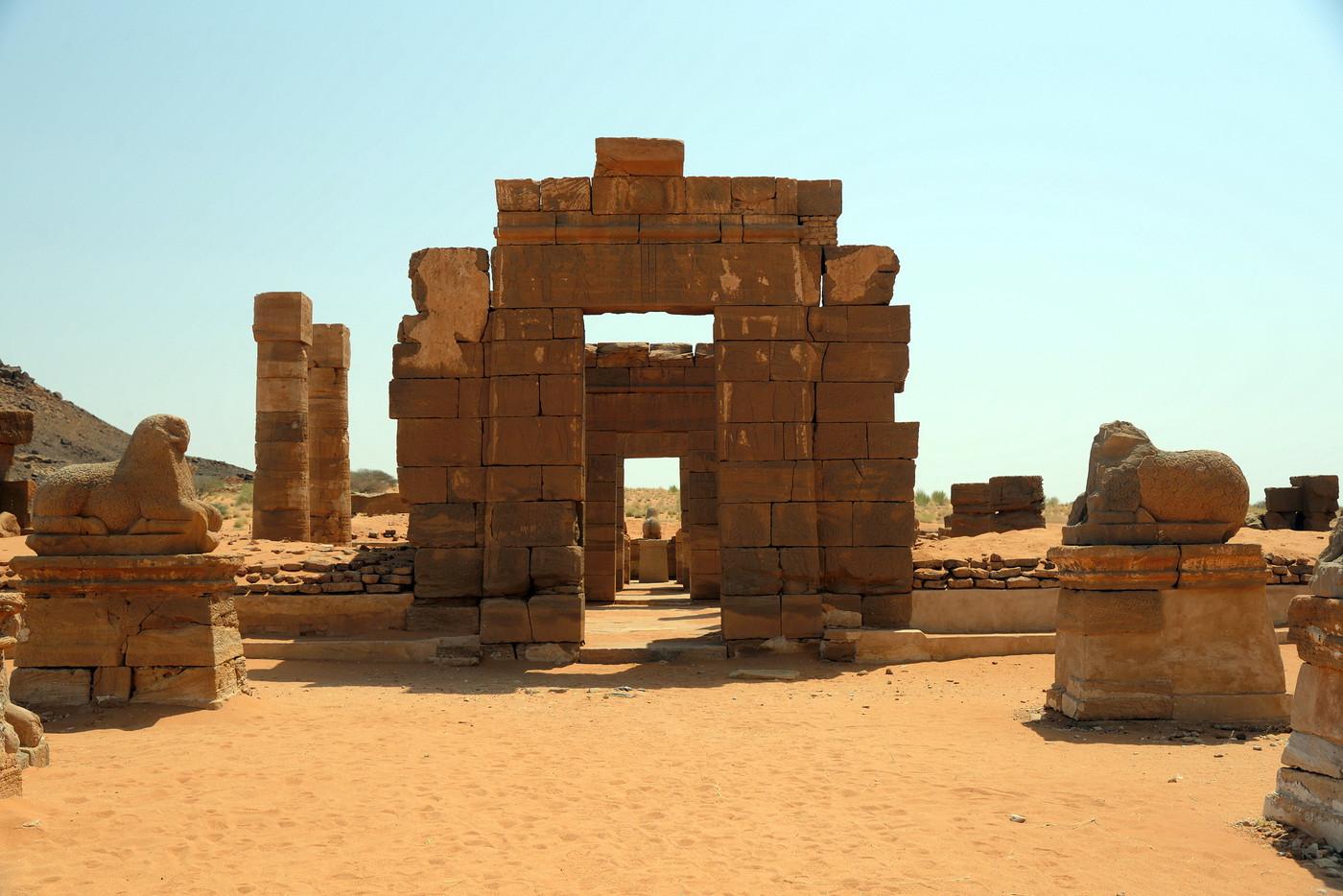 Ruiny świątyni Amona