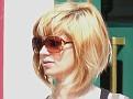 Blonde in shades