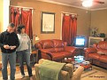 nice Marblehead living room