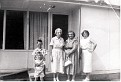 Ray Pergram, Jimmy Foust - Lady Unknown - Edna Marie (ANDERSON) Foust, and Mable June (PATTON) Foust.