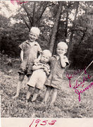 Jerry West, Luke West, and Jimmy West about 1953