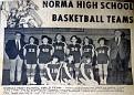 Norma HS Basket Ball Team - 1970 Girls Team