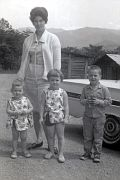 Cora Faye (CARROLL) Austin. KIDS: Sandy, Jeanie, and Danny