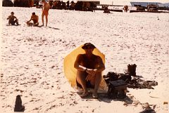 E. Ray Austin, on R&R at the beach at Vung Tau, Vietnam, sometime between 1971-1972 while on my 2nd tour of duty in Vietnam.