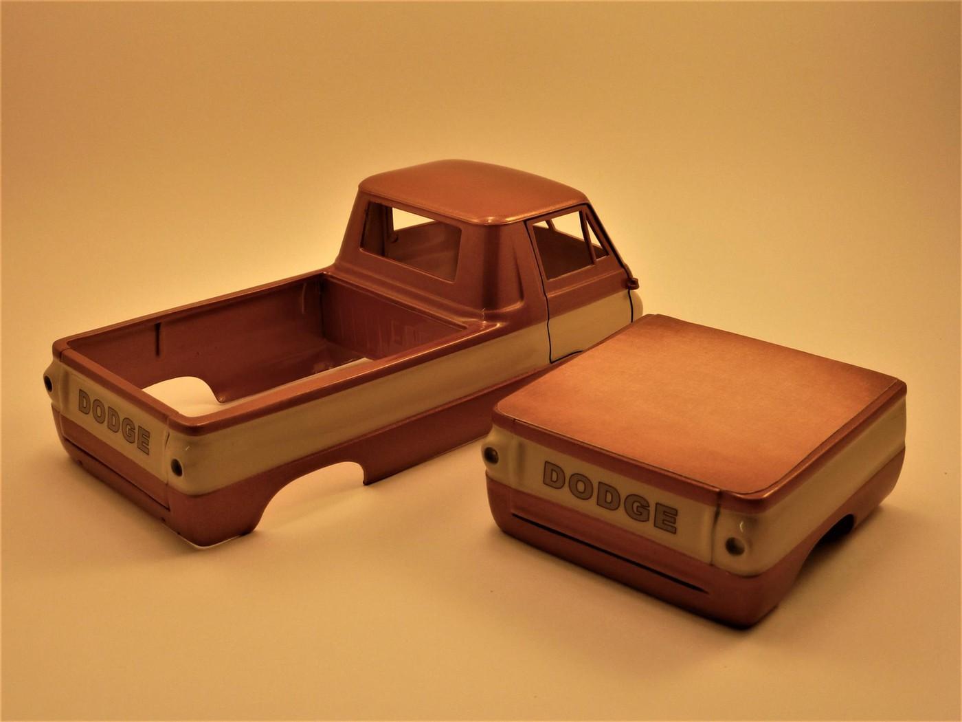 Dodge A 100 pickup avec remorque terminé Photo1-vi