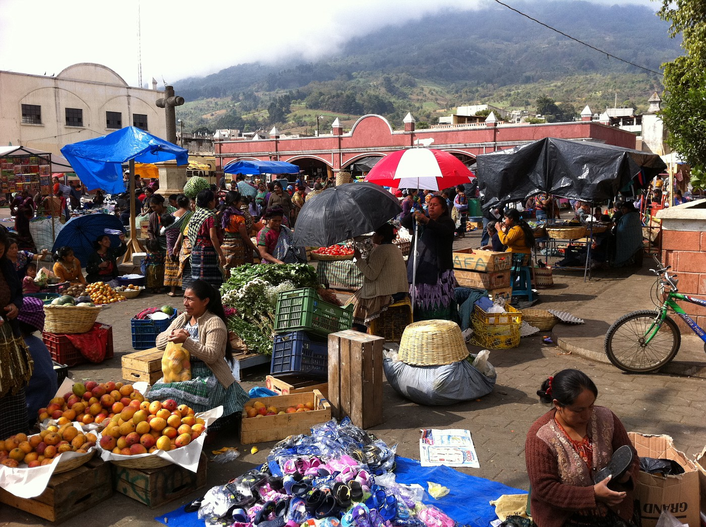 Exploring a Local Market in Antigua, Guatemala...