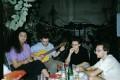 С коллегами-официантами в Бат-Яме на ул. Вейцман.