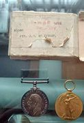 My grandfather's WWI medals