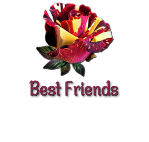 redstripedroseksaBest Friends