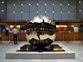 Arnaldo Pomodoro's Bronze Sphere