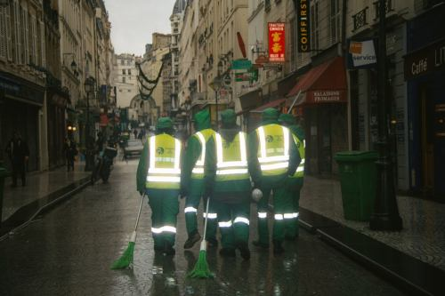 Ghost busters of Paris