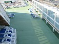 Looking down to Sun Deck Area, port looking aft - AURORA