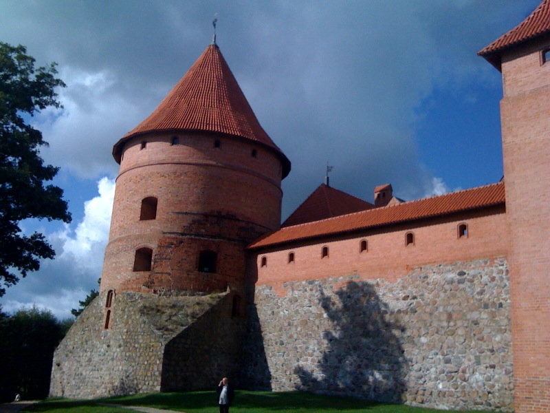 Thursday Sept 17-09 / 2:00 PM.  Exploring the Castle of Trakai, Lithuania