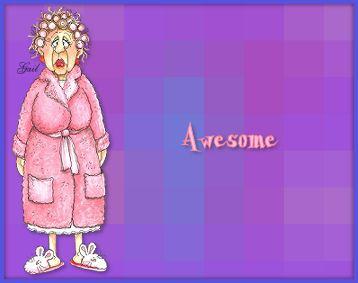 Awesome-gailz-wake up grandma jdi