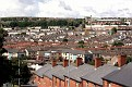 Bogside from the city walls, Derry