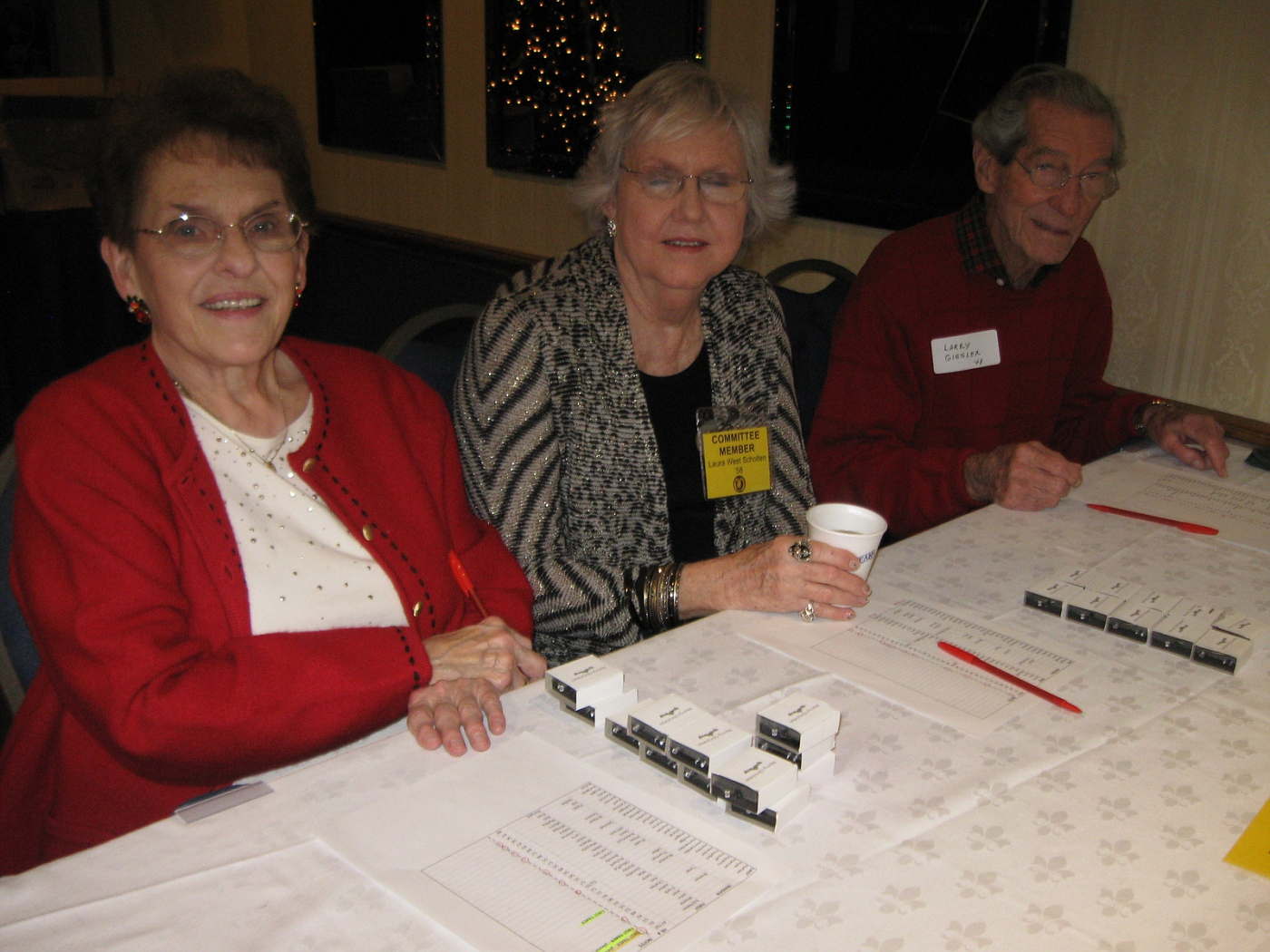 Betty Dial, Laura Scholten, Larry Giesler
