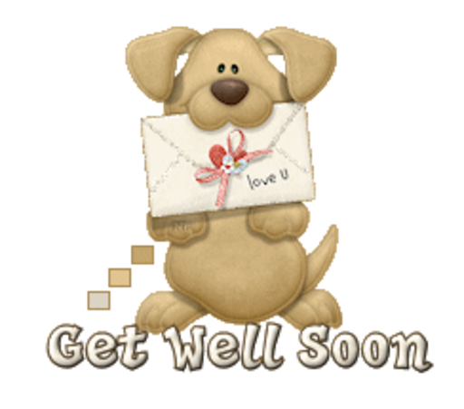 Get Well Soon - PuppyLoveULetter