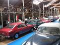 Museon tiloissa on n. 100 autoa ja saman verran kaksipyöräisiä (mm. mopoja, moottoripyöriä ja polkupyöriä)