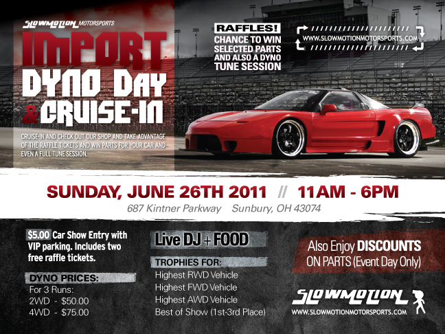Ohio - SM Motorsports Dyno Day & Cruise-in Sunday, June 26th