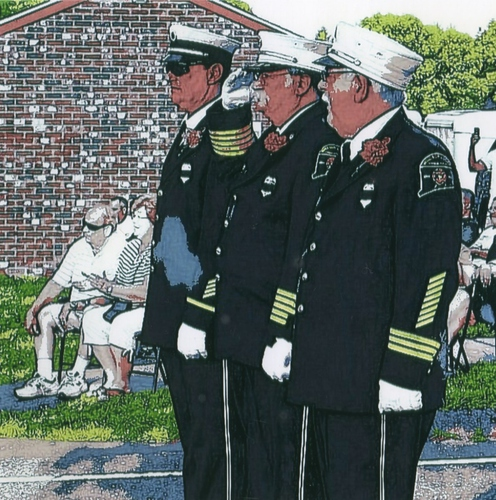 2015-6-01 WINDSOR LOCKS HERITAGE WEEK - FIREFIGHTERS QUILT - PRESENTATION - 22