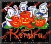 3 Ghosts & pumpkinKendra