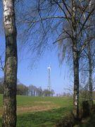 Betagte Windmühle