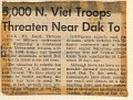 5,000 North Vietnamese Reds