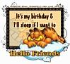 GarfieldSleep-Hello Friends stina0607