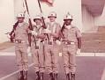 Color Guard, US Army., USAMEDDACJ OKINAWA, Japan.