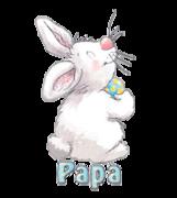 Papa - HippityHoppityBunny