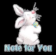 Note for You - HippityHoppityBunny